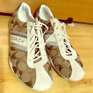 Coach Jayme sneakers - gently used - 8.5